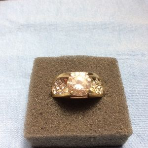 Jewelry - C-Z Cocktail Ring Size 8